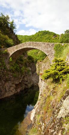 Le Pont du Diable, Thueyts