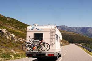Camping-car en Ardèche