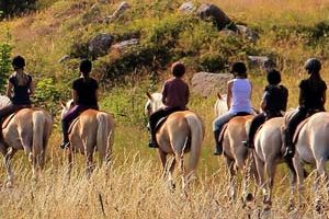 Équitation en Ardèche