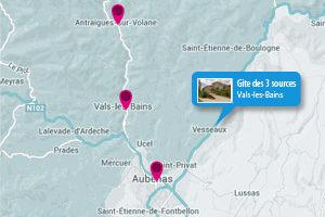 Carte Interactive Ardèche