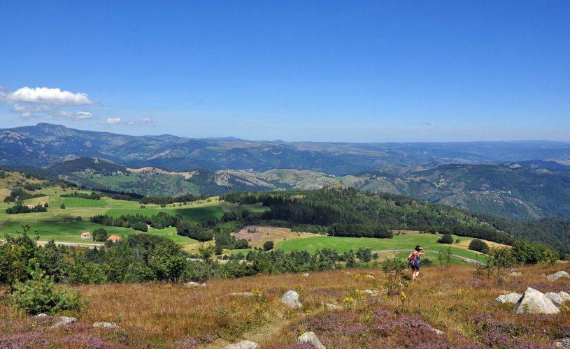 Panorama depuis le sommet du Suc de Montivernoux