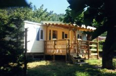 mobil home camping Le Pastural