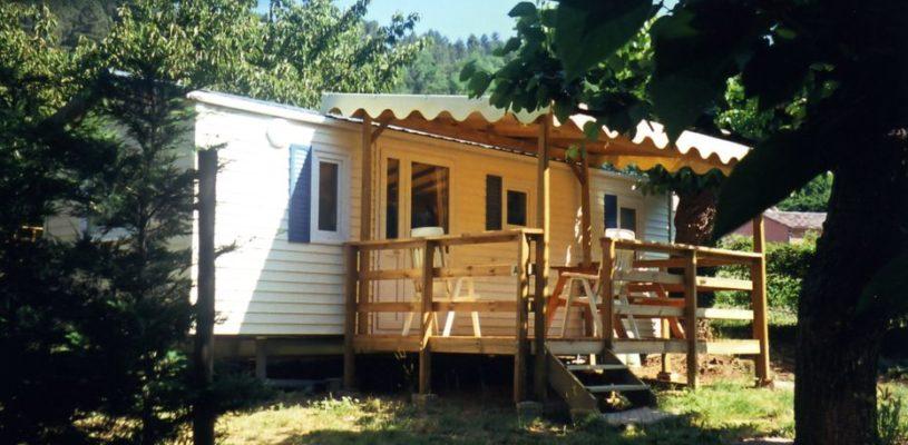 mobil home camping Le Pastural