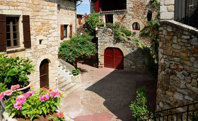 Village de caractère de Vinezac