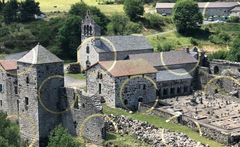 Abbaye de Mazan, Oeuvre de Felice Varini