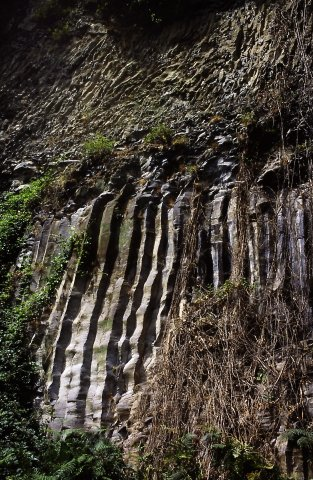 Coulée basaltique d'Antraïgues