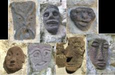 Les sculptures en basalte