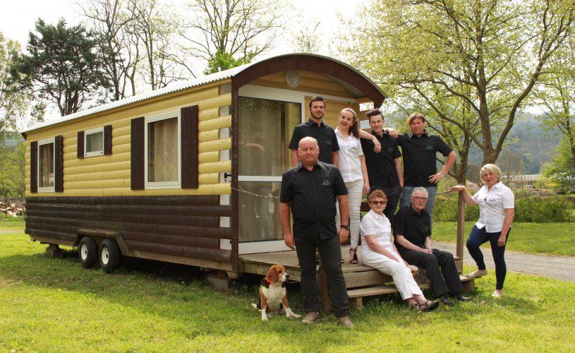 L'équipe du camping