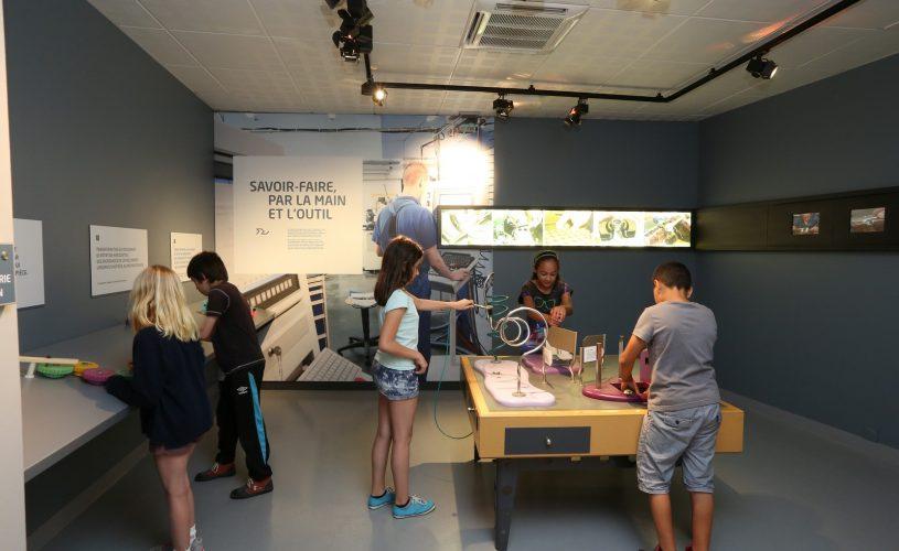 Exposition permanente espace mécanique
