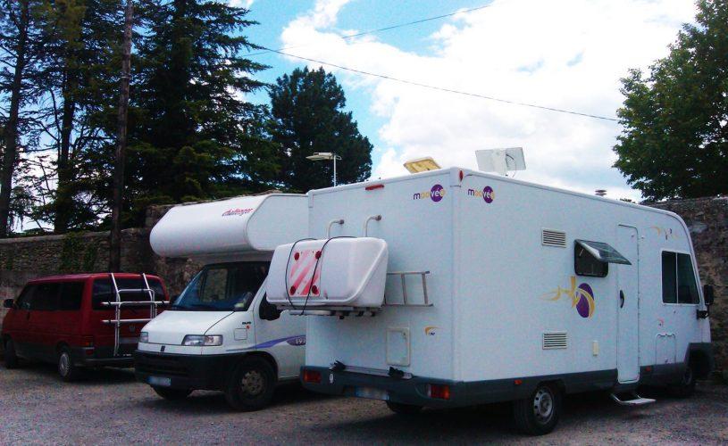 Aire de stationnement camping car