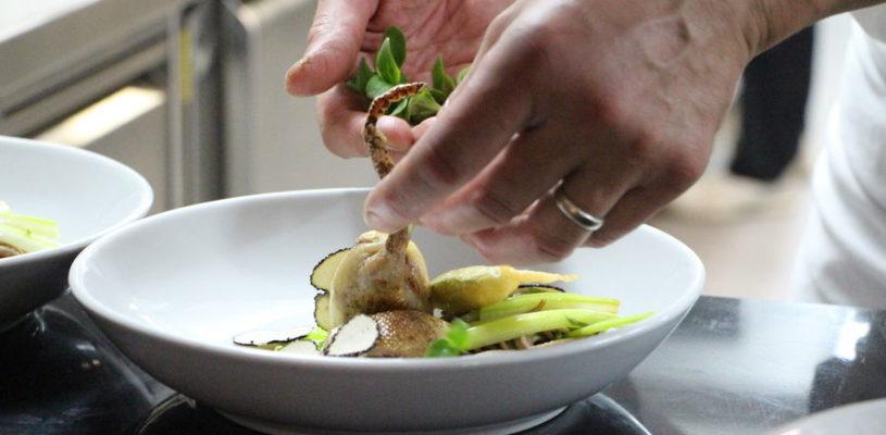Auberge de Montfleury – St Germain – Plat en cuisine