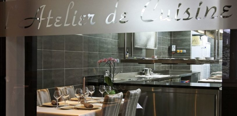 Auberge de Montfleury – St Germain – Table en Cuisine